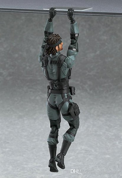 Figma 243#Venom Snake Metal Gear Solid 2: Sons Anime Figures Action Figure Christmas Gifts Toys Birthdays Gifts Doll New Arrvial Hot Sale
