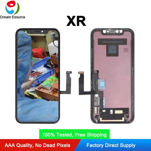 OEM riparazione di parti di originale FOG iPhone XR gruppo dello schermo schermo LCD con il trasporto Nice Touch Brand New DHL libero
