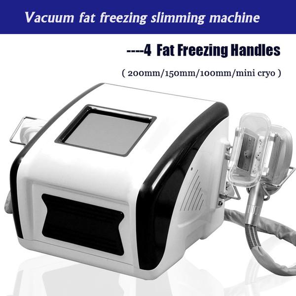 Most popular Portable 4 handles Slimming machine Cryolipolysis Fat Freezing beauty machine Double Chin Treatment Weight Loss salon