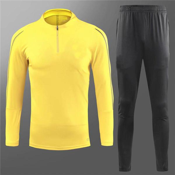 New Dortmund jacket tracksuit yellow black Windbreaker training suit 18/19 REUS PULISIC Dott clothes sports wear tracksuit 2018