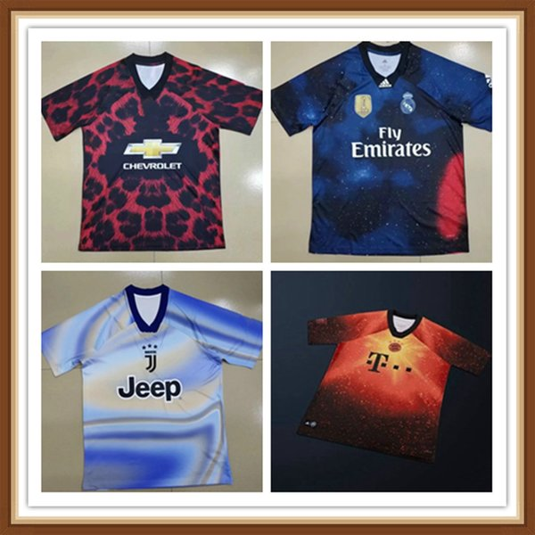 on sale 1ccee 932b5 2019 19 20 Limited Edition PSG Real Madrid Juventus Manchester Bayern  Munich Soccer Jersey RONALDO 2020 United Training Wear Special Edition From  ...