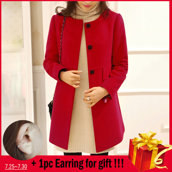 Women's Shearling Coats Faux Suede Leather Jackets women Loose Coat Jacket Long Section Large Size Loose Round Neck Coat #20
