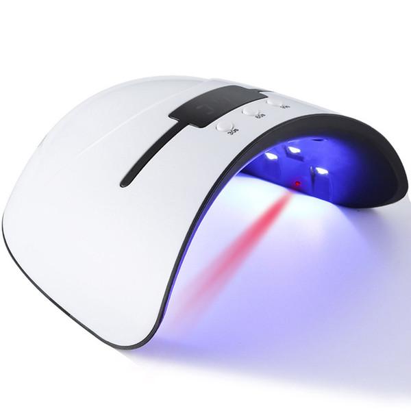 36 W Akıllı LCD Ekran ile LED UV Tırnak Kurutucu USB Şarj Tırnak Lamba Taşınabilir Kür Lambalar Hızlı Kuru Akıllı Tırnak Jel