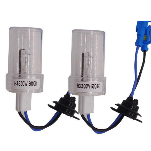 Lámpara HID H1 H4 H7 H11 9005 9006 6000K HID de 300W HID bombillas de xenón blanco del coche blanco