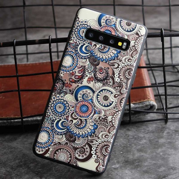 New Fashion Shockproof Phone Case for Samsung S10/S10+/S10e/S9/S9 Plus/S8/S8 Plus/Note 9/Note 8 Protective Silicone Back Cover 2 Styles