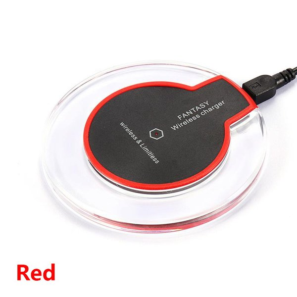 Chargeur sans fil rouge