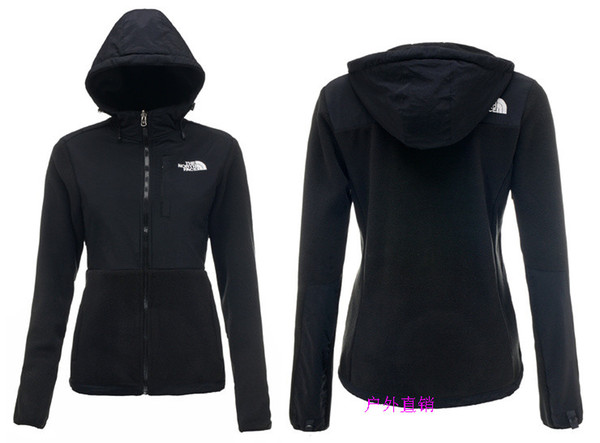 best selling HIGH Quality Winter Women Fleece Hoodies Jackets Camping Windproof Ski Warm Down Coat Outdoor Casual Hooded SoftShell Sportswear Black S-XXL