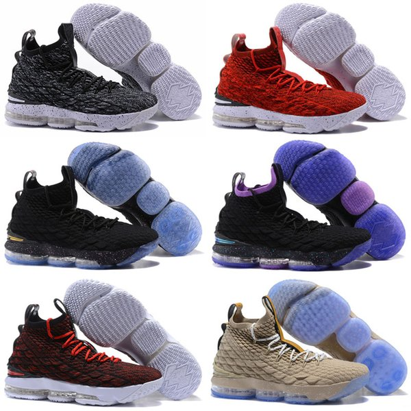 online store 74dd8 cbed8 2019 Black Gum 15 Mesh Surface Lebron James XV PE 15S Men Women Of White  Ghost Ashes Outdoor Shoes Red Training Sneakers 40 46 From Zoeystore,  $28.86 ...