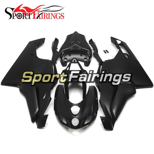 Sportbike Casing Fit For 2005 2006 Ducati 999/749 Monoposto (Single Seat) Complete Plastic Fairings 05 06 All Matte Black Bodywork Kit