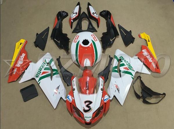 Neue ABS Motorrad Vollverkleidung Kit + Tankdeckel Fit für Aprilia RS125 06 07 08 09 10 11 RS 125 2006 2011 benutzerdefinierte weiß rot grün