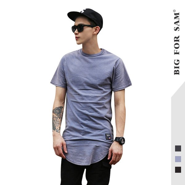 Cool2019 Arc Brand Tide Skirt Long Fund Hip-hop High Street Rendering Unlined Upper Garment Pure Cotton Man Short Sleeve T Pity Men's Wear