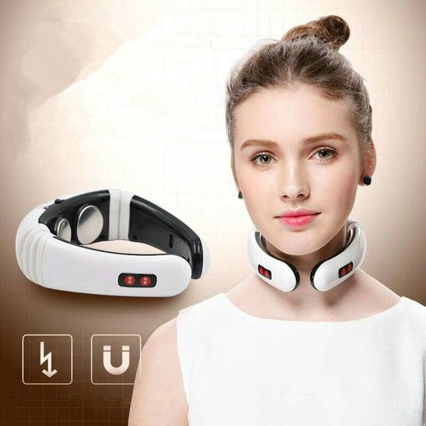 Electric Pulse Back Neck Massager Pain Relief Tool Health Care Relaxation Multifunctional Back Neck Massager RRA1163