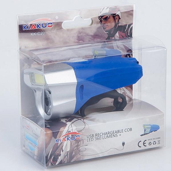 دراجة ليلة ركوب الخيل للمصابيح الأمامية الإضاءة USB شحن الشعلة مقاوم للماء LED للمصابيح الأمامية + COB معدات ركوب الخيل الثابتة