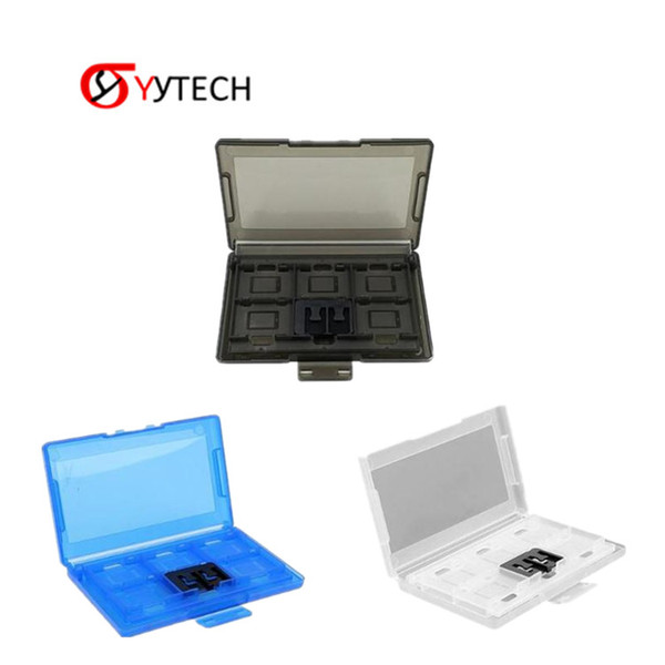 SYYTECH Factory Price Case Holder 12 Slots + 2 TF Plastic Game Cards Storage Hard Box For Nintendo Switch