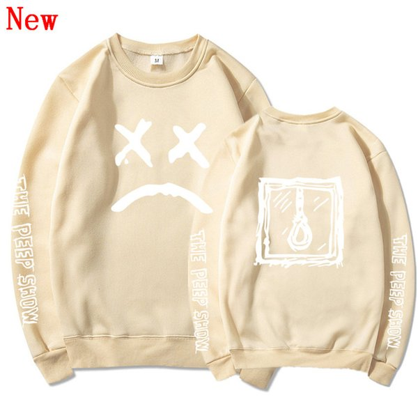 Free Shipping Lil Peep cotton oversized Hoodies sweatshirts Men/Women Streetwear Tracksuit hit hop clothes QJ10