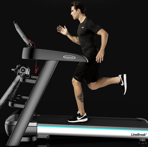 best selling Gift company specializing in home treadmills Miniature fitness equipment walking machine Multi-function electric treadmill Fitness Equipment