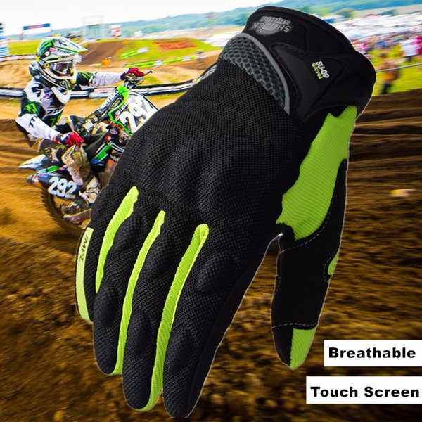 SUOMY Summer Full Finger Motorcycle Gloves Motocross Dirtpaw Glove Cycling MTB ATV DH MX Dirt Bike Off-road Racing Gloves