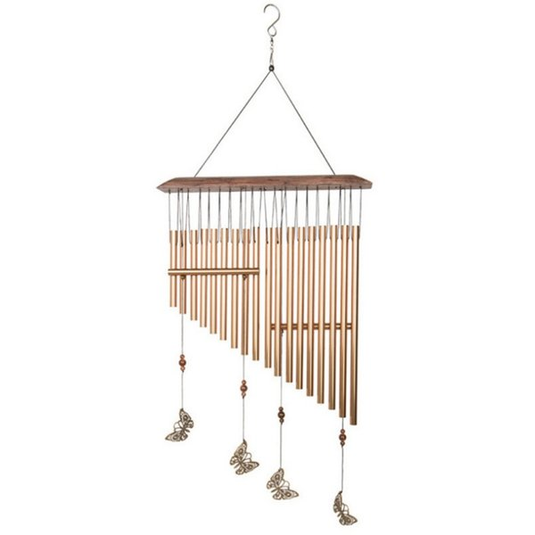 wind chimes wind bell aeolian bells copper wind-bell garden home decor metal chime hanging decoration ornament dropship a