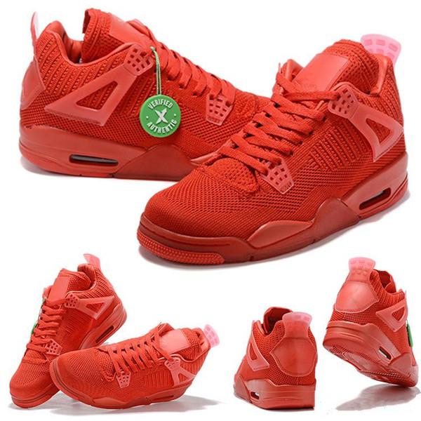 4s tejen zapatillas de baloncesto para hombre Azul Rojo Verde naranja Zapatillas Chicago Athletic Zapatillas de hombre Zapatillas deportivas Zapatillas de diseñador EUR 40-47