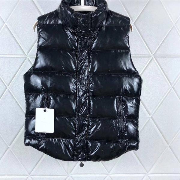 Mode Winter Herren Mantel Reißverschluss Reflektierende Hoodie Männliche Frauen Markendesigner Ärmellose Jacke Weste Tops S-3XL