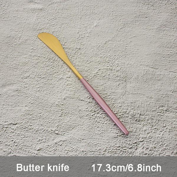 Color:Pink Butter knife