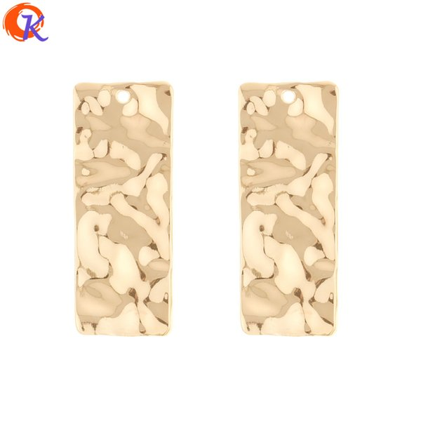 wholesale 50Pcs 17*43MM Jewelry Making/Earring Connector/Rectangle Shape/Hand Made/DIY Earring Accessories/Earring Findings