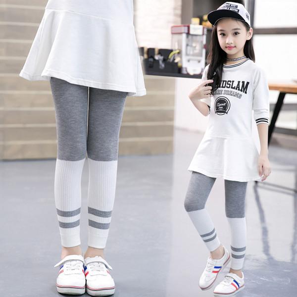 Spring Autumn Girls Leggings Children Skinny Pants Kids Clothing Girl Pants Baby Leggings Fashion Roupas Infantis Menina