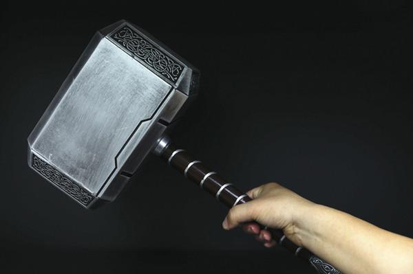 [TOP] 1: 1 Simulation 44 cm 4 kg The Avengers Thor hammer mjolnir spielzeug modell erwachsene kostüm party cosplay spielzeug sammlung modell geschenk