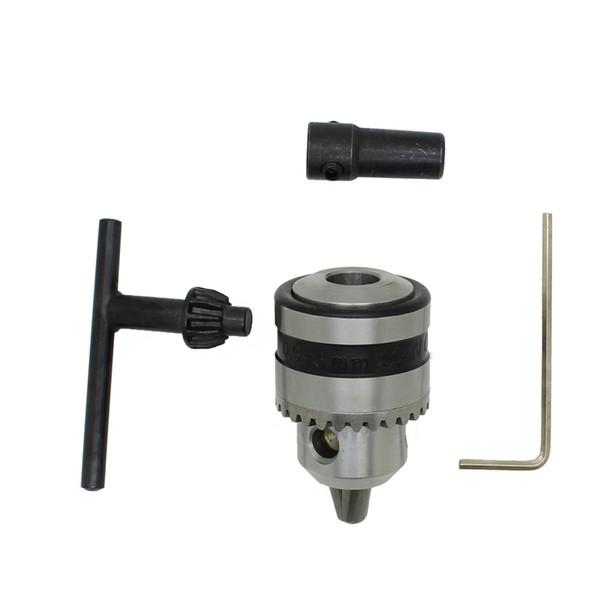 Mini-mandrin de perçage 0.6-6mm Mount B10 avec 5mm Connect Rod Moteur Clé Clé Outils Outils Accessoires