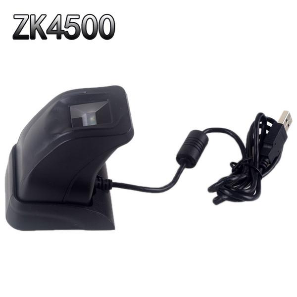 Escáner de huellas dactilares con caja de venta al por menor ZK4500 Sensor de lector de huellas dactilares USB para computadora PC Casa / Oficina SDK gratuito Lector de captura