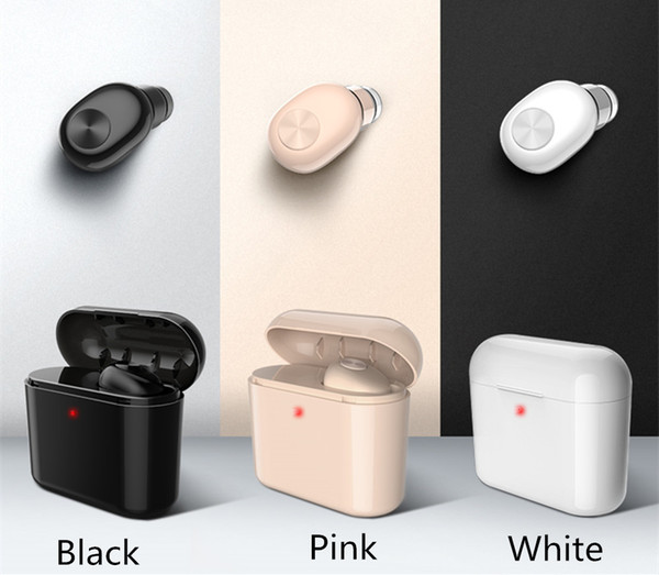 2019 NEW BL1 Mini Wireless Bluetooth 4.2 Stereo Earphone in ear Sports With Charger box Mic Earbud Headset Earpiece 700mAh Power Bank