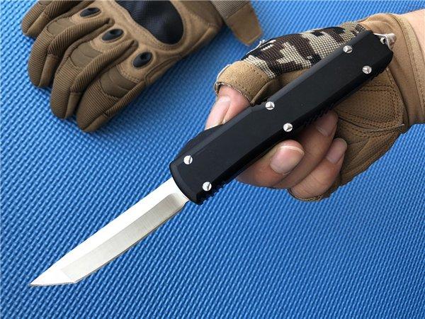 7 Arten Double Action Hellhound Tanto Outdoor Hutning Messer Aluminium Griff Spartan Camping Survival EDC Messer taktische Ausrüstung P83Q F