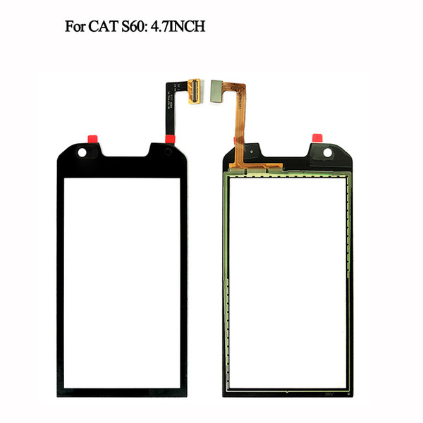 1PCS Catteny For Caterpillar S60 Touch Screen Display Assembly 4.7inch For CAT S60 Touch Panel Screen Free Russian+Tools
