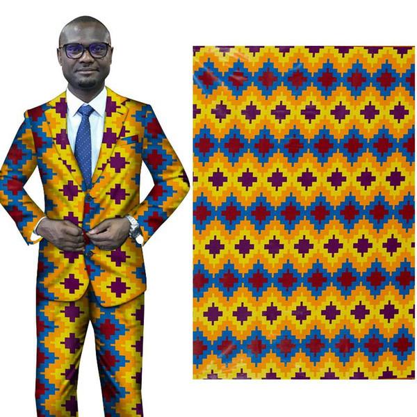 New African fashion Print FabricBintaReal Wax Hollandais Fabric Pattern new Print Fabric Ankara African Batik Fabric free ship