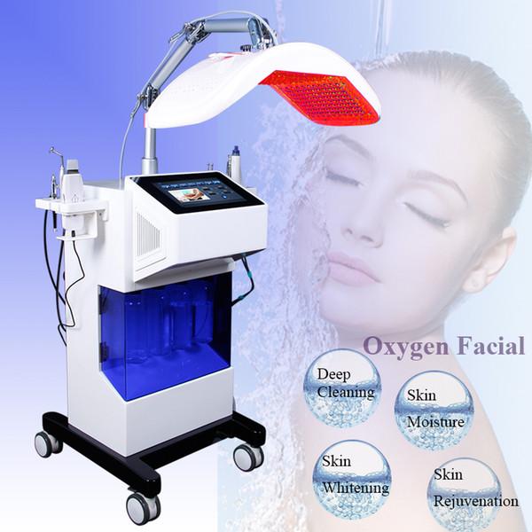 2019 Dermabrasion Hydrafacial Machine Skin Scrubber Spray Gun Acne Therapy Diamond Microdermabrasion Oxygen Jet Hydra Facial Machine