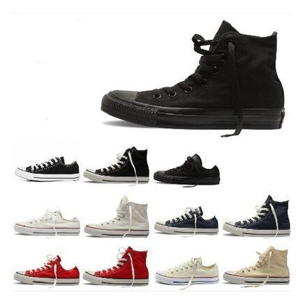 Prix promotionnel neuf de l'usine! Chaussures de toile pour femmes et hommes Style bas Chaussures de toile classiques Chaussures de toile décontractées