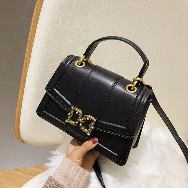 7a57b7e5e4 leather handbag women designer handbags classic handbag luxury shoulder  bags black crossbody bags women new arrival