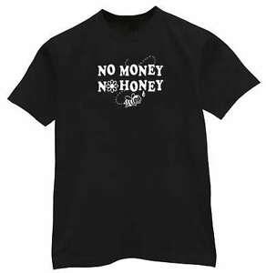Nenhum dinheiro nenhum mel engraçado Bumble o t-shirt