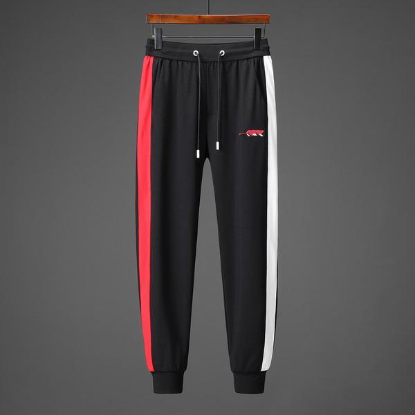 Chándales de diseñador para hombre Marca Moda Rojo Blanco Contraste Sudadera + Pantalón Primavera Otoño Conjuntos de manga larga Lujo Plus Size M-3XL B100208V