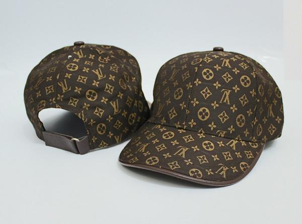 2019 Nueva marca para hombre sombreros de diseño gorras de béisbol ajustables de lujo de moda dama de verano camionero casquette mujeres ocio cap