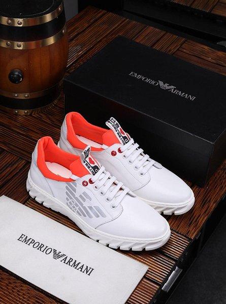 2019n yeni sınırlı sayıda lüks tasarımcı rahat erkek ayakkabı, moda vahşi rahat açık erkek spor ayakkabı, metre: 38-45