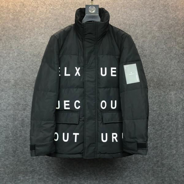 2019 automne et en hiver lourd rentable à long capuchon vers le bas jacket191202 # 0003