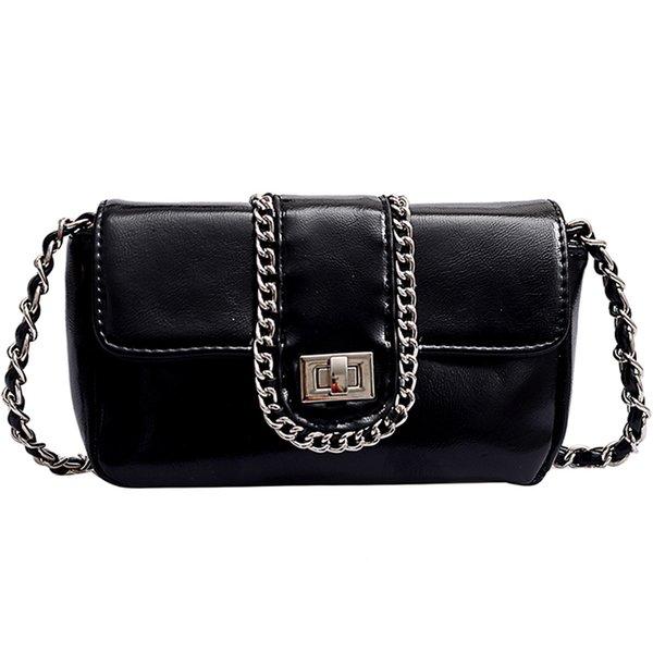 Frauen PU-Leder Schulter Kuriertasche Geldbeutel Handtaschen Umhaengetasche Heiß