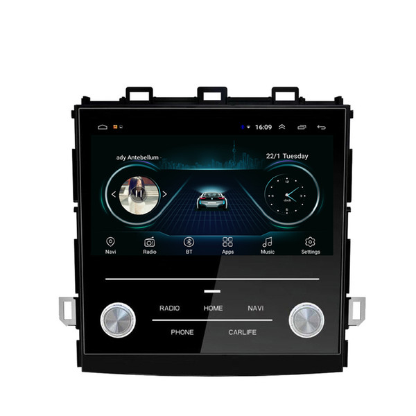 Autoradio GPS integrierte WiFi-Multimedia-Player mp3 mp4 Musik-Player Multi-Touch-Screen für XV 2018 9inch Android 8.1
