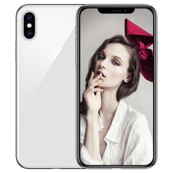 ERQIYU goophone Xs Max unlocked cell phones dual sim 6.5 inch Octa Core shown 4G LTE 4G RAM 128GB ROM GPS Smartphones