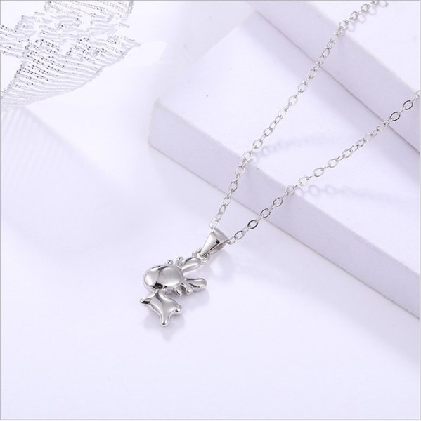 A743 white gold necklace