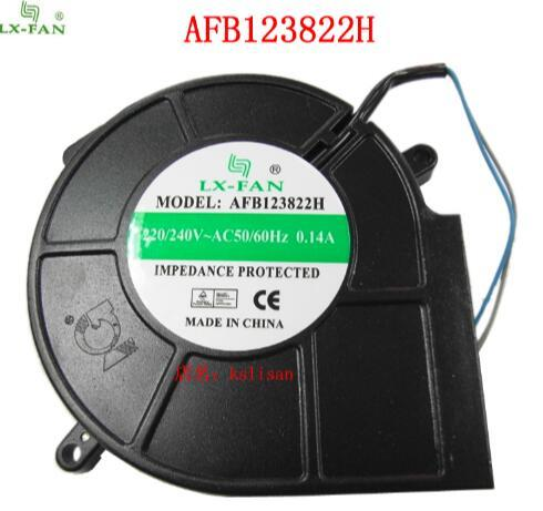 LX-FAN AFB123822H 12032 220V 0.14A Special Turbine Fan AC Blower for Two-wire Disinfection Cabinet