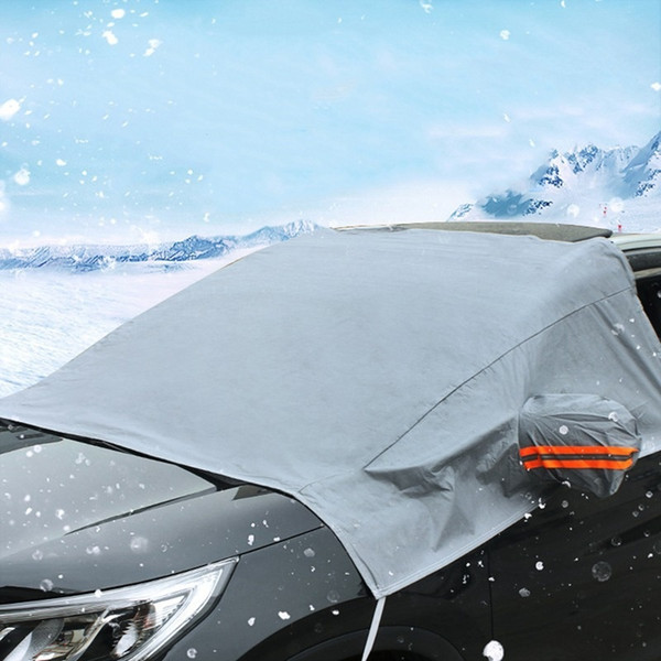 top popular Car Sun Shades for Windshield PEVA Car Umbrella Auto Front Windscreen Rain Frost Covers Dust Hook Up Shield Auto Covers 2020