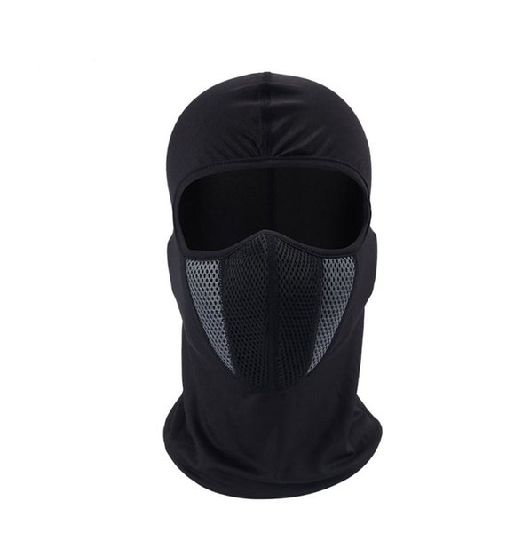 Balaclava Motorcycle Face Mask Moto Helmet Bandana Hood Ski Neck Full Face Mask Windproof Dustproof Face Shield