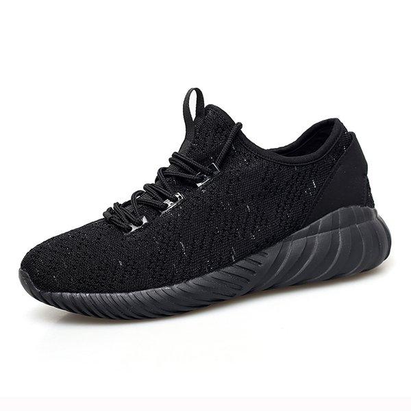 EUDILOVE New Summer Sneakers Traspirante Uomo Scarpe casual Moda uomo Scarpe Volanti tessuto traspirante coppia 5J9018